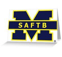 University of Michigan: SAFTB Greeting Card