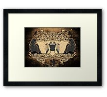 Ode to The Crow Framed Print