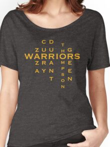 WARRIORS STARTING 5 Women's Relaxed Fit T-Shirt