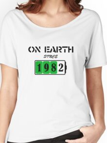On Earth Since 1982 Women's Relaxed Fit T-Shirt