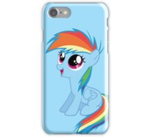 Filly Rainbow Dash iPhone Case/Skin
