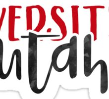 University of Utah - Style 1 Sticker