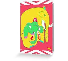 Cradled Greeting Card