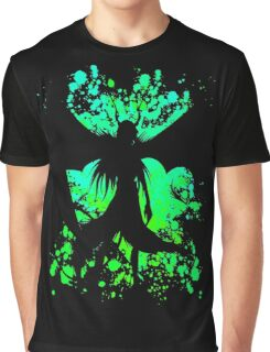 Ulquiorra Paint Splatter Anime Manga Shirt Graphic T-Shirt