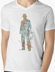 The Map To Nurhaci Mens V-Neck T-Shirt