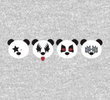Kiss Panda One Piece - Long Sleeve