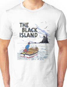 tintin the black island Unisex T-Shirt
