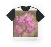 Crucifix Orchid Bunch Graphic T-Shirt