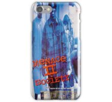 Menace II Society Movie Poster iPhone Case/Skin