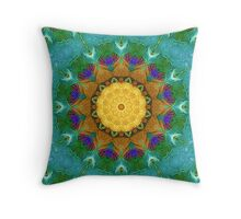 From Sunflowers to Stars #2 Throw Pillow