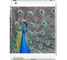 Up Close and Peacock  iPad Case/Skin