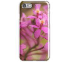 Crucifix Orchid Bunch iPhone Case/Skin
