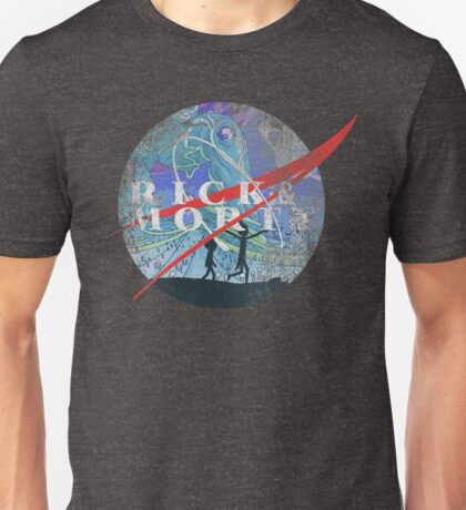 Rick & Morty (distressed) Unisex T-Shirt