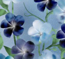 Violet Splendor Sticker