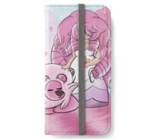 Rose and Lion iPhone Wallet/Case/Skin