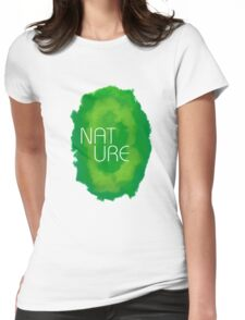 Nature rca Womens Fitted T-Shirt