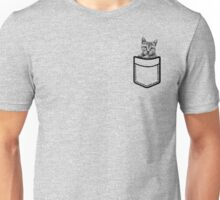Cute Cat Pocket Tee Shirt Funny Saying Fashion Womens Teen Girl Shirts Cool Grunge Graphic Tee Unisex Mens TShirt Trendy Tumblr Tops Tees Unisex T-Shirt