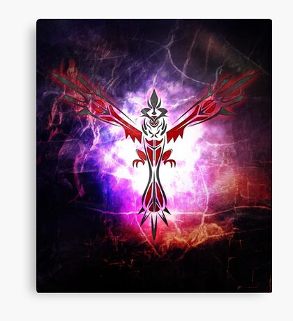 Tribal Yveltal Canvas Print