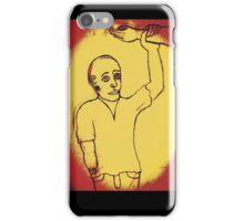Helping hand iPhone Case/Skin