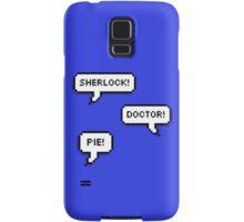 Sherlock Doctor Pie Samsung Galaxy Case/Skin