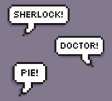 Sherlock Doctor Pie T-Shirt