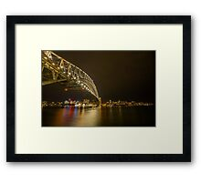 Sydney September 2016 Framed Print