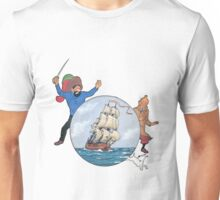 tintin the secret of unicom Unisex T-Shirt
