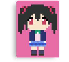 Pixel Nico Canvas Print