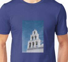 Santorini Church Unisex T-Shirt