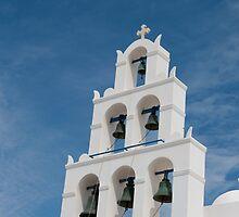 Santorini Church by Marylou Badeaux