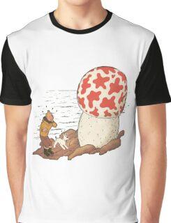 tintin the shoting star Graphic T-Shirt