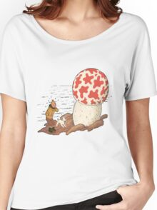 tintin the shoting star Women's Relaxed Fit T-Shirt