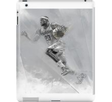 Lebron James Print iPad Case/Skin
