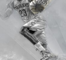 Lebron James Print Sticker