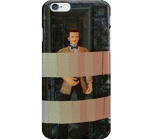Dr who  matt smith in the pandorica iPhone Case/Skin