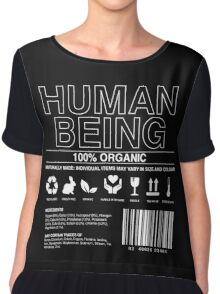 Human Being Care Label Chiffon Top