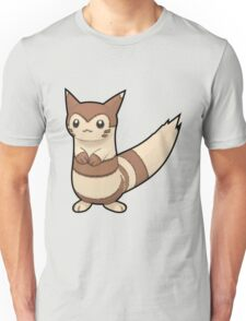 Furret - Pokemon Thick Border Unisex T-Shirt