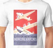 Vintage New York Travel Unisex T-Shirt