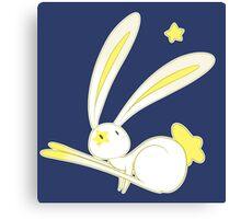 Star Bunny Canvas Print