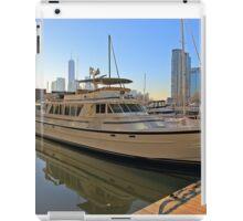 Dockside Newport Marina Jersey City NJ iPad Case/Skin