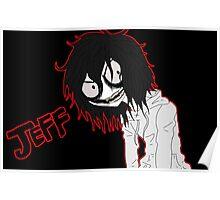 Jeff the killer  Poster