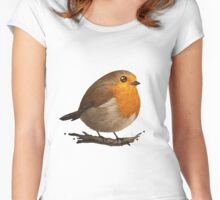 Cute Bird Women's Fitted Scoop T-Shirt