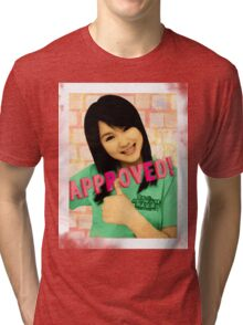 Aika Seal of Approval Tri-blend T-Shirt