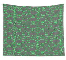 Glass and Sand Green Wall Tapestry