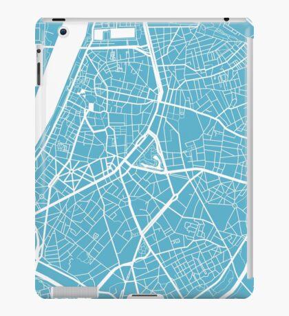 Antwerp Map - Baby Blue iPad Case/Skin