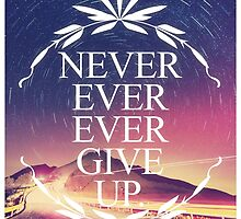 Never Ever Ever Give Up by papabuju