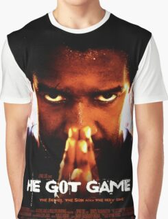 He Got Game Movie Poster Graphic T-Shirt