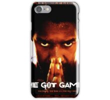 He Got Game Movie Poster iPhone Case/Skin