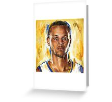 Steph Curry - Golden State Warriors Greeting Card