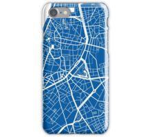Antwerp Map - Deep Blue iPhone Case/Skin